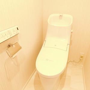 エクレール目黒(3階,)のトイレ