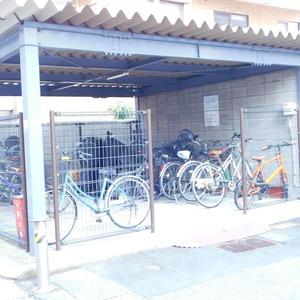 藤和護国寺コープの駐輪場
