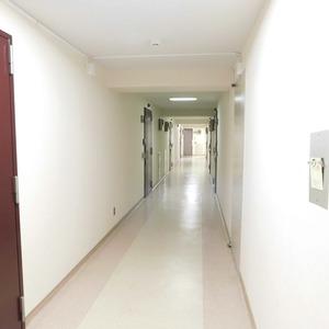 藤和護国寺コープ(6階,3380万円)のフロア廊下(エレベーター降りてからお部屋まで)