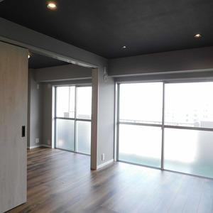 藤和護国寺コープ(6階,)の居間(リビング・ダイニング・キッチン)