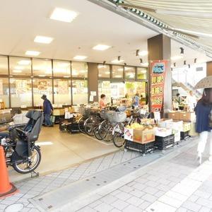 落合マンションの周辺の食品スーパー、コンビニなどのお買い物