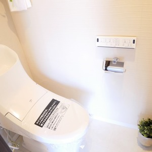 コンフィール赤堤(5階,)のトイレ