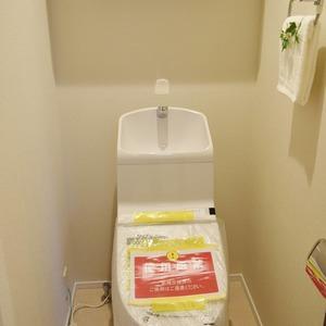朝日マンション白金通り(5階,)のトイレ