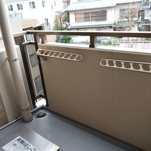 朝日マンション白金通り(5階,)のバルコニー