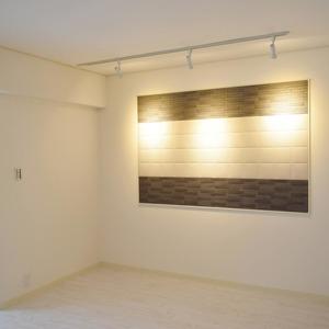 白金台パークサイドハイツ(5階,3780万円)の居間(リビング・ダイニング・キッチン)