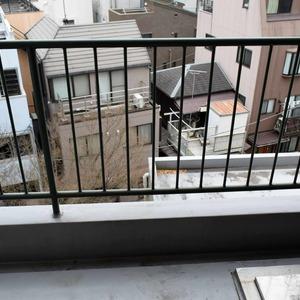 白金台パークサイドハイツ(5階,3780万円)のバルコニー