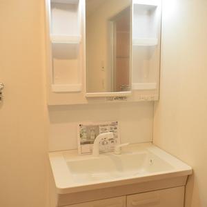 白金台パークサイドハイツ(5階,3780万円)の化粧室・脱衣所・洗面室