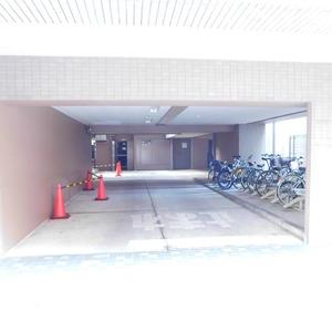 ステージファースト目白第2の駐輪場
