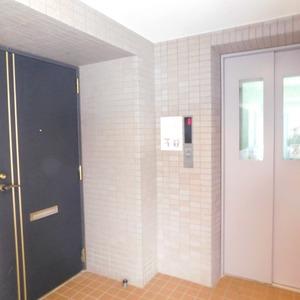 ステージファースト目白第2(8階,4780万円)のフロア廊下(エレベーター降りてからお部屋まで)