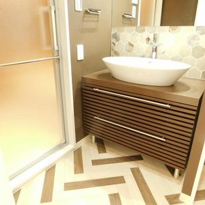 ヴィルヌーブ西早稲田(6階,6980万円)の化粧室・脱衣所・洗面室
