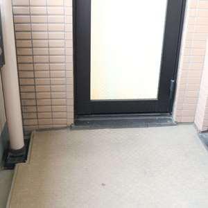 マイキャッスル入谷(9階,4480万円)のバルコニー
