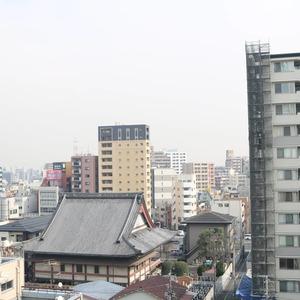 マイキャッスル入谷(9階,4480万円)のお部屋からの眺望