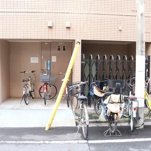 マイキャッスル入谷の駐輪場