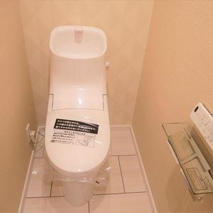 ディナスカーラ上北沢(3階,4580万円)のトイレ