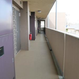 ディナスカーラ上北沢(3階,4580万円)のフロア廊下(エレベーター降りてからお部屋まで)