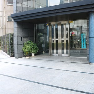 東京ビューマークスのマンションの入口・エントランス
