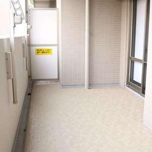 東京ビューマークス(2階,5480万円)のバルコニー