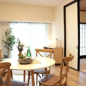 東京ビューマークス(2階,)の居間(リビング・ダイニング・キッチン)