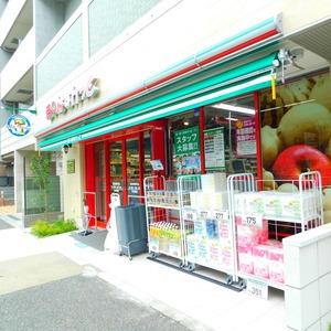 ヴィルヌーブ西早稲田の周辺の食品スーパー、コンビニなどのお買い物