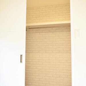 ヴェルデ青山(2階,)のウォークインクローゼット