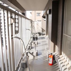 コスモ亀戸アネックス(8階,4480万円)のバルコニー