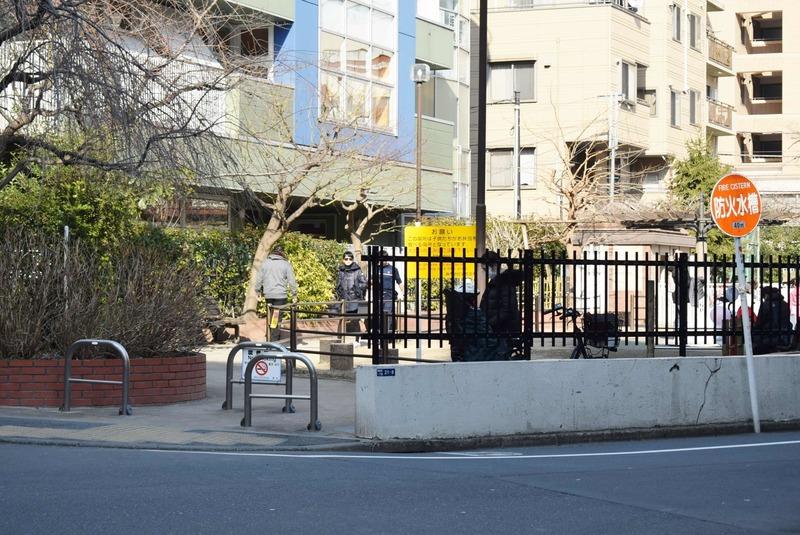 クラッシィスイートジオ東麻布の近くの公園・緑地1枚目