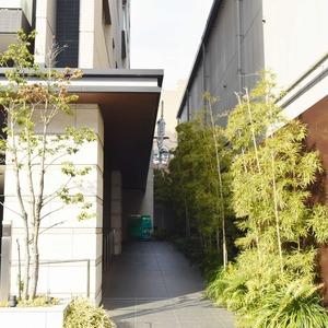 クラッシィスイートジオ東麻布のマンションの入口・エントランス
