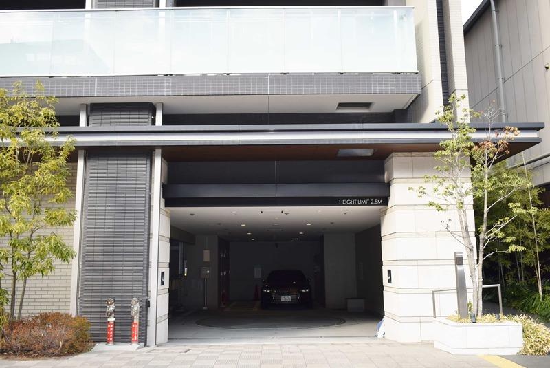 クラッシィスイートジオ東麻布の駐車場1枚目