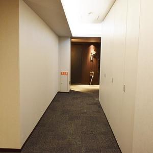 クラッシィスイートジオ東麻布(3階,6380万円)のフロア廊下(エレベーター降りてからお部屋まで)