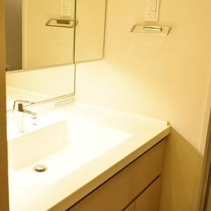 クラッシィスイートジオ東麻布(3階,6380万円)の化粧室・脱衣所・洗面室