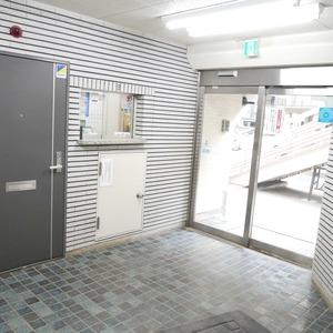 ライオンズマンション桜上水のマンションの入口・エントランス