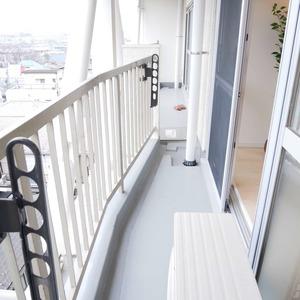 ライオンズマンション桜上水(6階,3299万円)のバルコニー