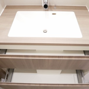 経堂セントラルマンション(2階,3980万円)の化粧室・脱衣所・洗面室