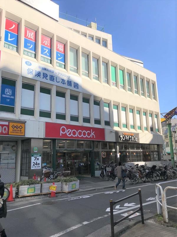 経堂セントラルマンションの周辺の食品スーパー、コンビニなどのお買い物1枚目