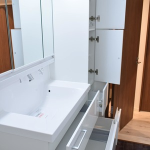 マンション京都白金台(7階,)の化粧室・脱衣所・洗面室