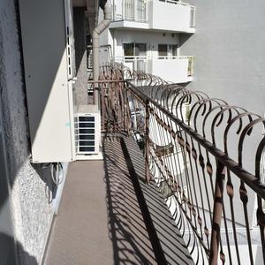 マンション京都白金台(7階,)のバルコニー