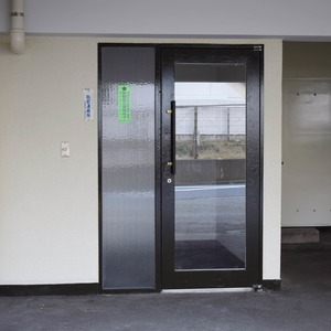 高輪長マンションのマンションの入口・エントランス