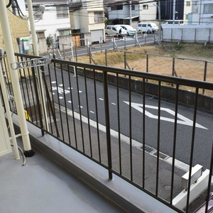 高輪長マンション(2階,)のバルコニー
