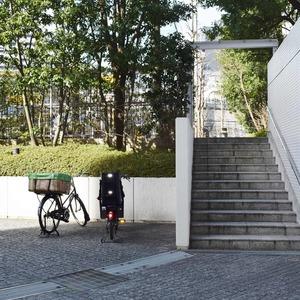 青山ザタワーの駐輪場