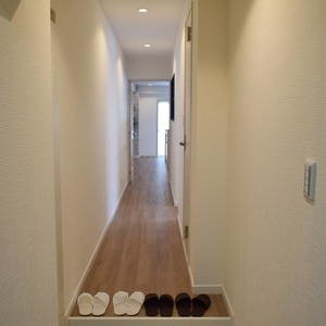エクレール乃木坂(4階,)のお部屋の廊下