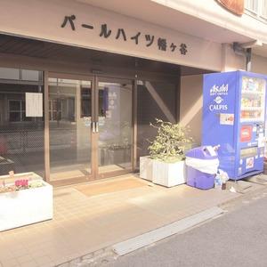 パールハイツ幡ヶ谷のマンションの入口・エントランス