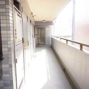 セザール元代々木(3階,6299万円)のフロア廊下(エレベーター降りてからお部屋まで)