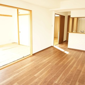 セザール元代々木(3階,6299万円)の居間(リビング・ダイニング・キッチン)