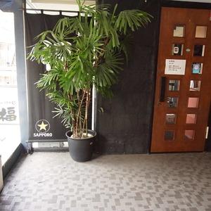 上原ハウスのマンションの入口・エントランス