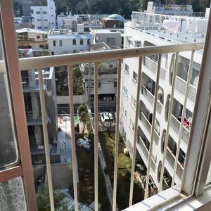 第7宮庭マンション(8階,)のバルコニー