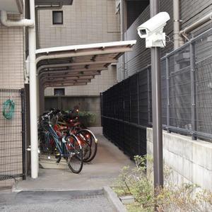 イトーピア麻布の駐輪場