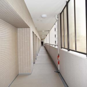 イトーピア麻布(4階,)のフロア廊下(エレベーター降りてからお部屋まで)