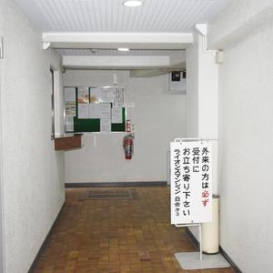 ライオンズマンション白金第3(1階,3280万円)のフロア廊下(エレベーター降りてからお部屋まで)