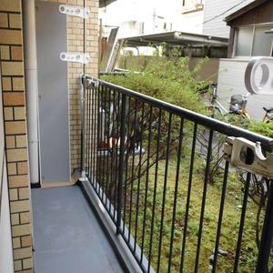 ライオンズマンション白金第3(1階,3280万円)のバルコニー