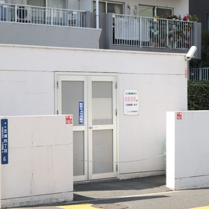 ソレイユ田町のごみ集積場